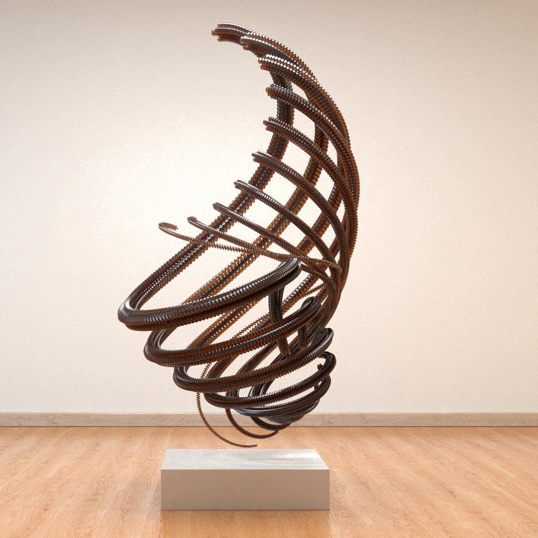 3D Sculpture .