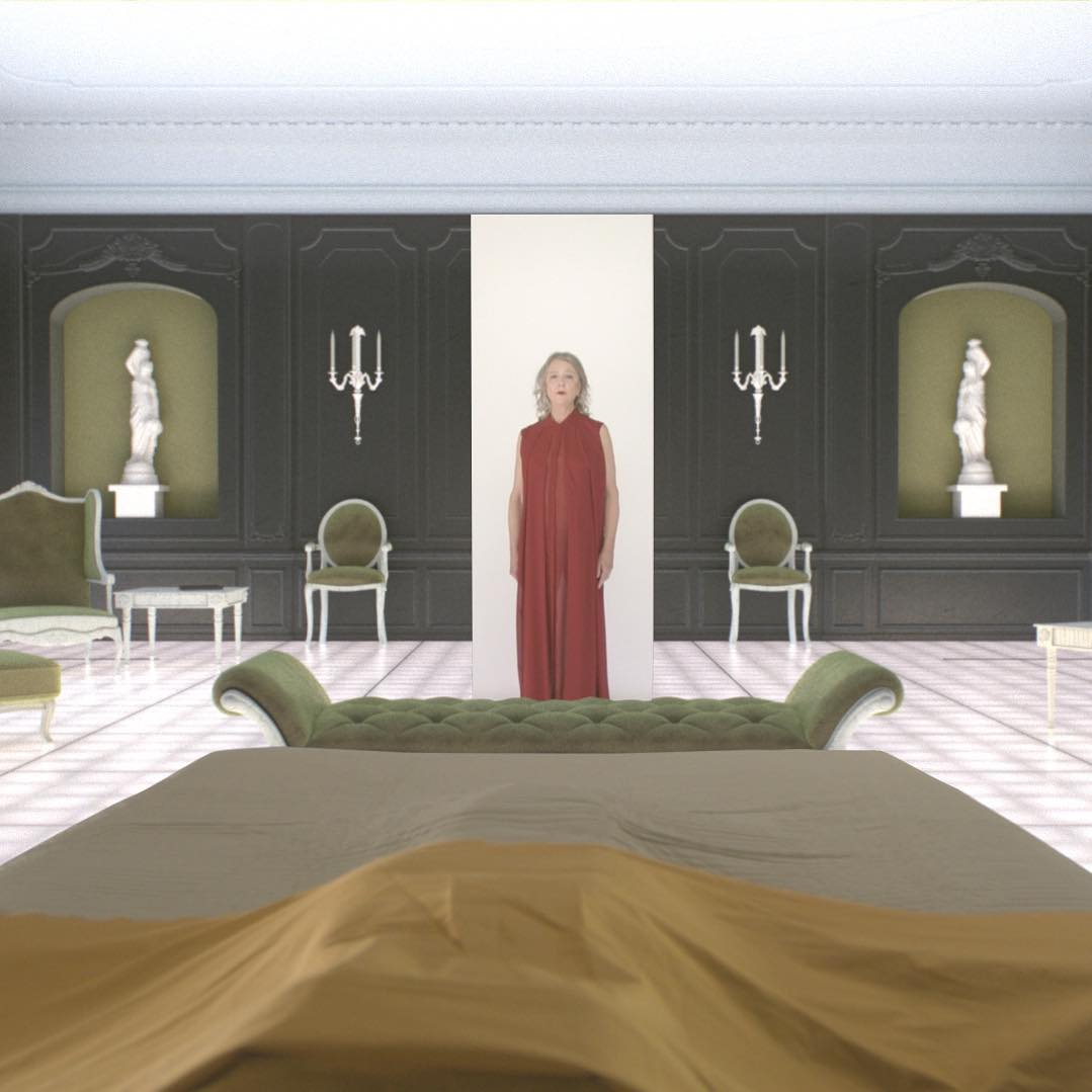 For the interactive film The Transmigration of Morton F. we recreated the room from 2001: a space odyssey.