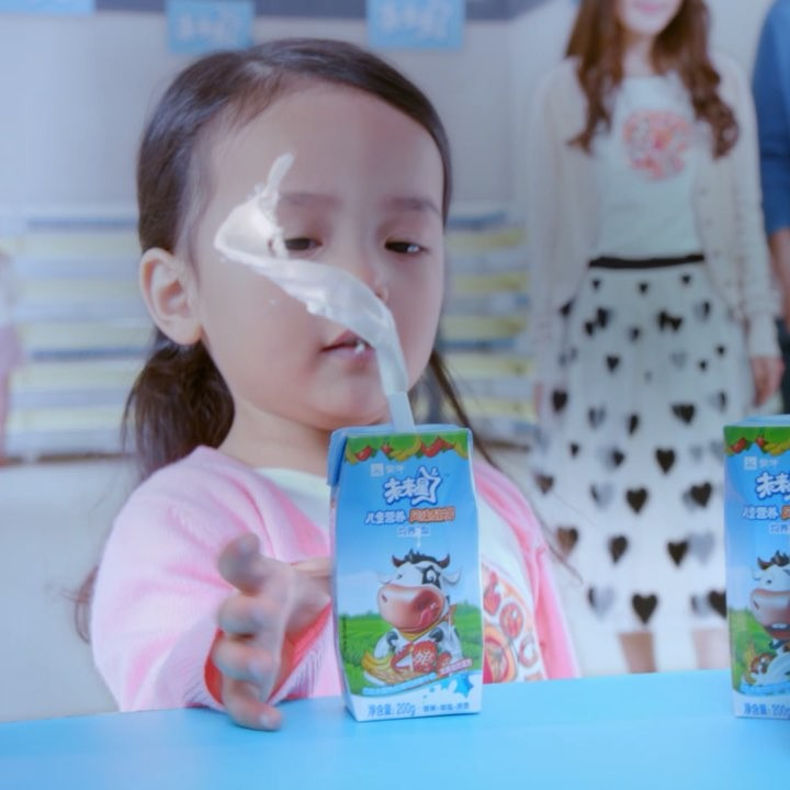 Realflow milk sim we created for a Chinese TVC.
