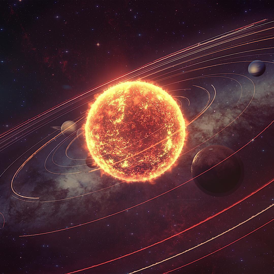 Our beautiful solarsystem.
