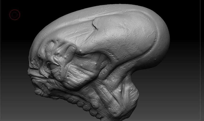 I forgot to add the final sculpt.. here it is!