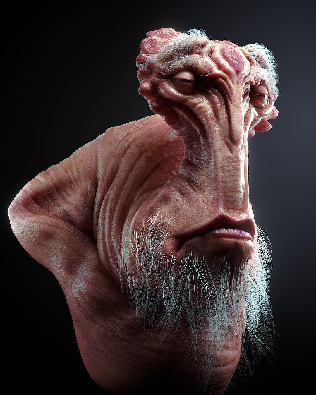 Another Star Wars alien sculpt study :) enjoy!