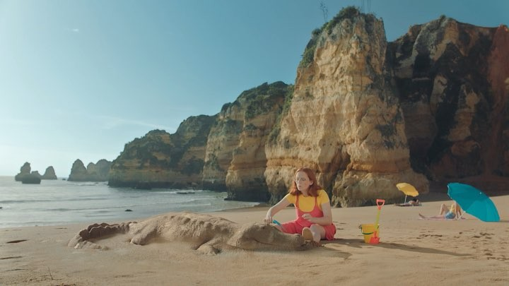 Crocochilling at the beach with One of a series of TVC's we did for @vakantiediscounter . Enjoy!